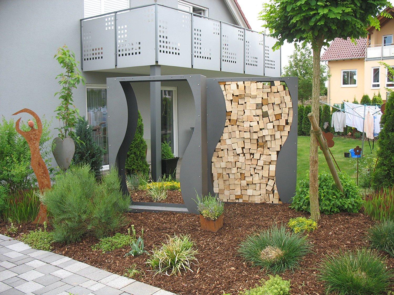 Holzaufbewahrung Außen ᐅ kaminholzregal außen top 25 kaminholzregale ii ii